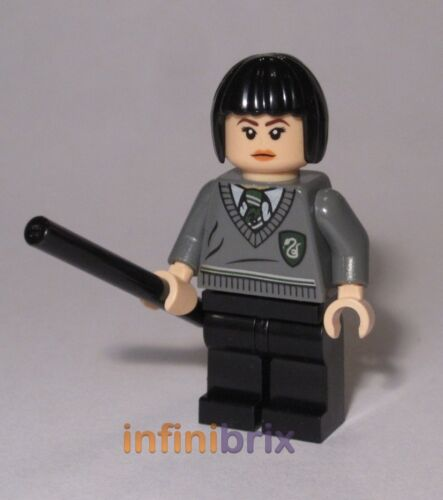 Lego CUSTOM Pansy Parkinson Harry Potter Slytherin Minifigure BRAND NEW cus400