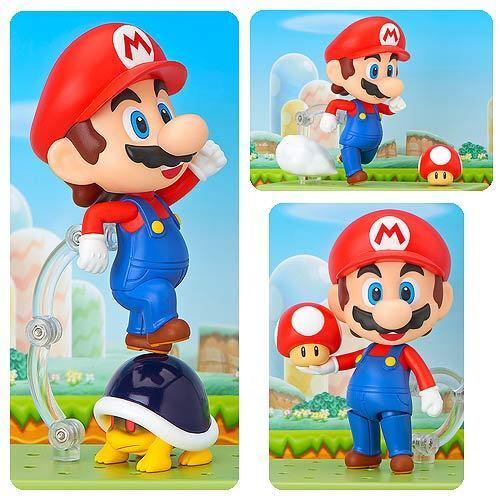 Super Mario Bros. Bros. Bros. 4-Inch Mario NendGoldid Action Figure - New in stock 5f2b1c