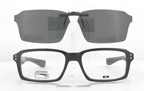 af69d0fd7d 2 of 10 Custom Fit Polarized CLIP-ON Sunglasses For Oakley FAT CAT OX1041  52X17 1041