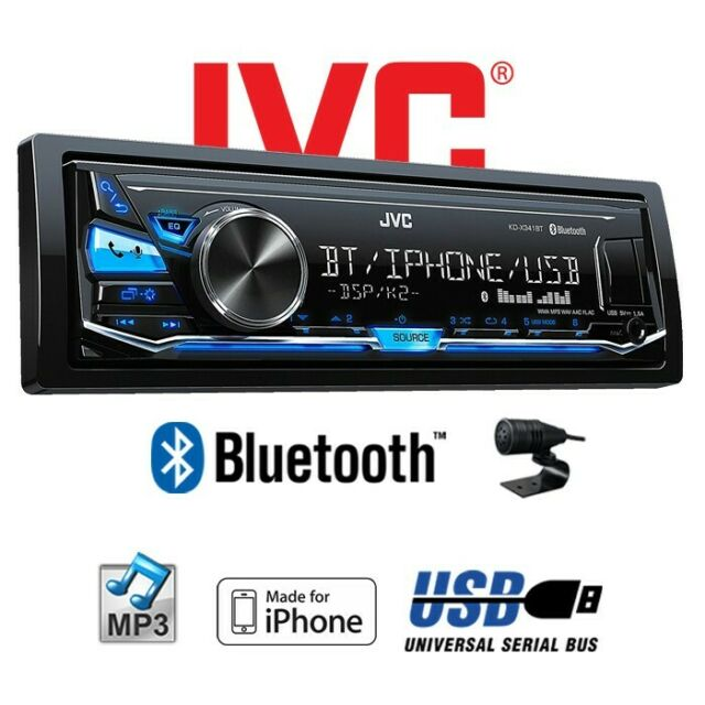 B-Ware JVC KD-X341BT - Bluetooth MP3 USB Android IPHONE Car Radio Car