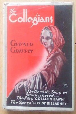 Gerald Griffin The Collegians HB Talbot Press Ed 1944 DJ Jack MacManus Limerick