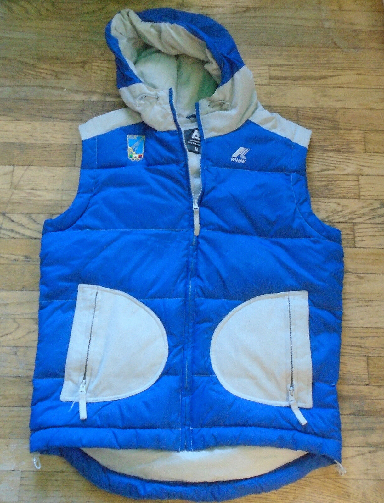 K-WAY Vest FIS Italian Fencing Federation OLYMPICS Logo Size Medium