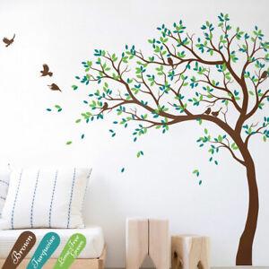 Details zu Groß Baum Wandtattoo Aufkleber Wandsticker Kinderzimmer  Geschenkidee KW032