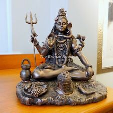 Bronze Lord Shiva Father of Ganesh Sculpture