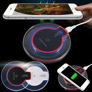 qi wireless charging kit transmitter charger adapter. Black Bedroom Furniture Sets. Home Design Ideas
