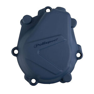 Polisport Orange Clutch Cover Protector For KTM SXF EXC-F 450 Husqvarna FE FC FS