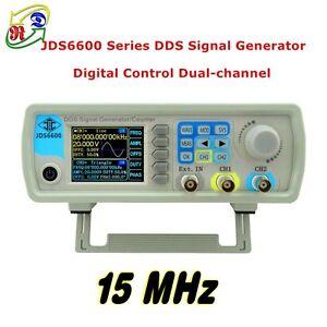 2-4-034-TFT-LCD-JDS6600-15MHz-2CH-Arbitrary-Waveform-DDS-Signal-Generator