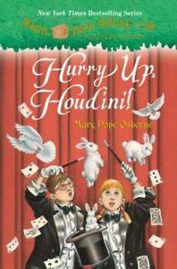 Hurry Up, Houdini! #50 Magic Tree House Merlin Mission Scholastic Hardback