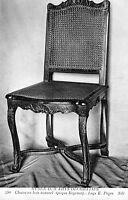 CPA Musée des Arts Décoratifs - Chaise en Bois Naturel (Epoque Régence)