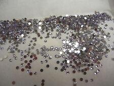 1.9 to 2.1mm 60 Preciosa 6ss Silver foiled Flatbacks CRAFT Size Colour Options