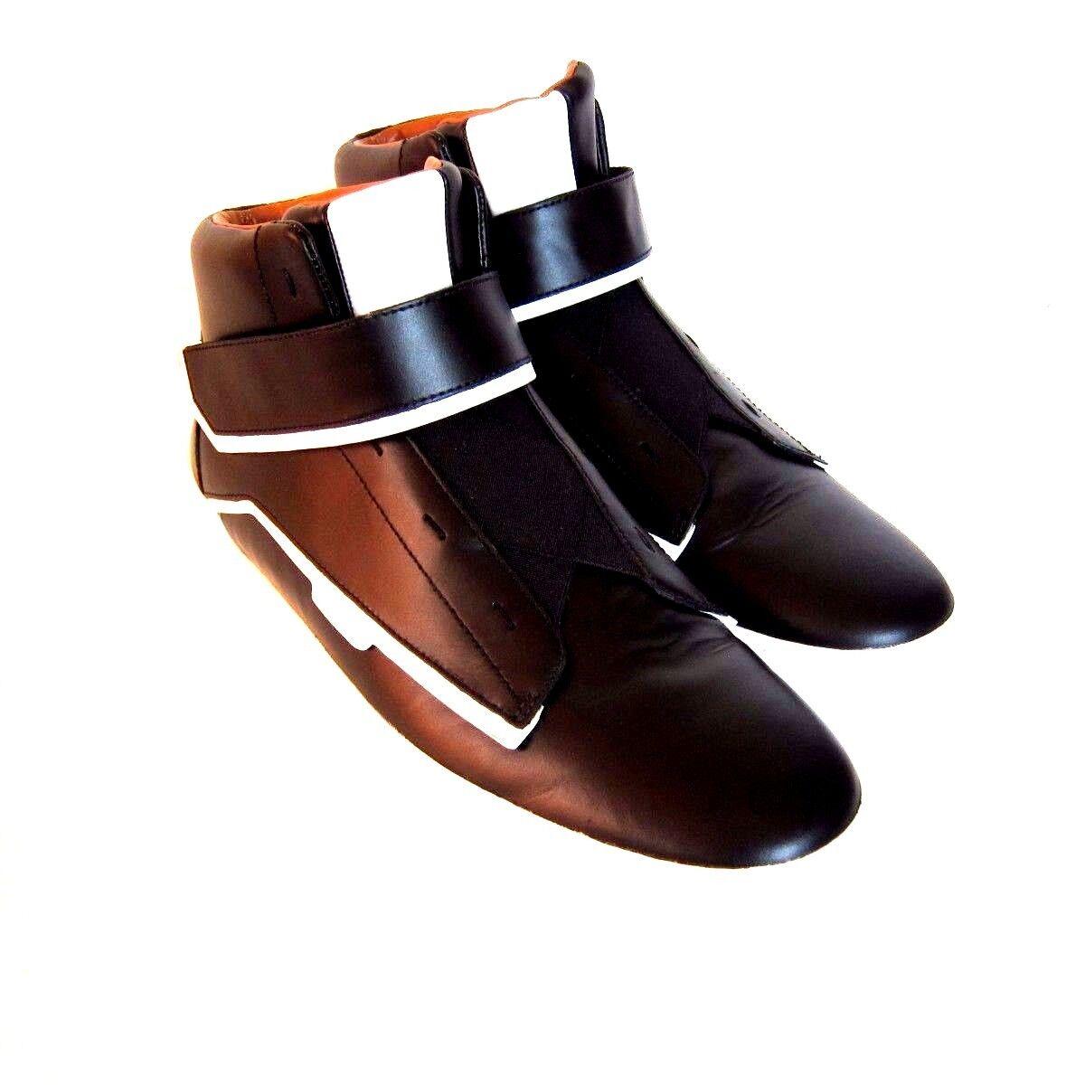 J-2390169 Nuovo Bally Erwan Nero scarpe da ginnastica Alta Superiore Scarpe Numeri 43 Us 10