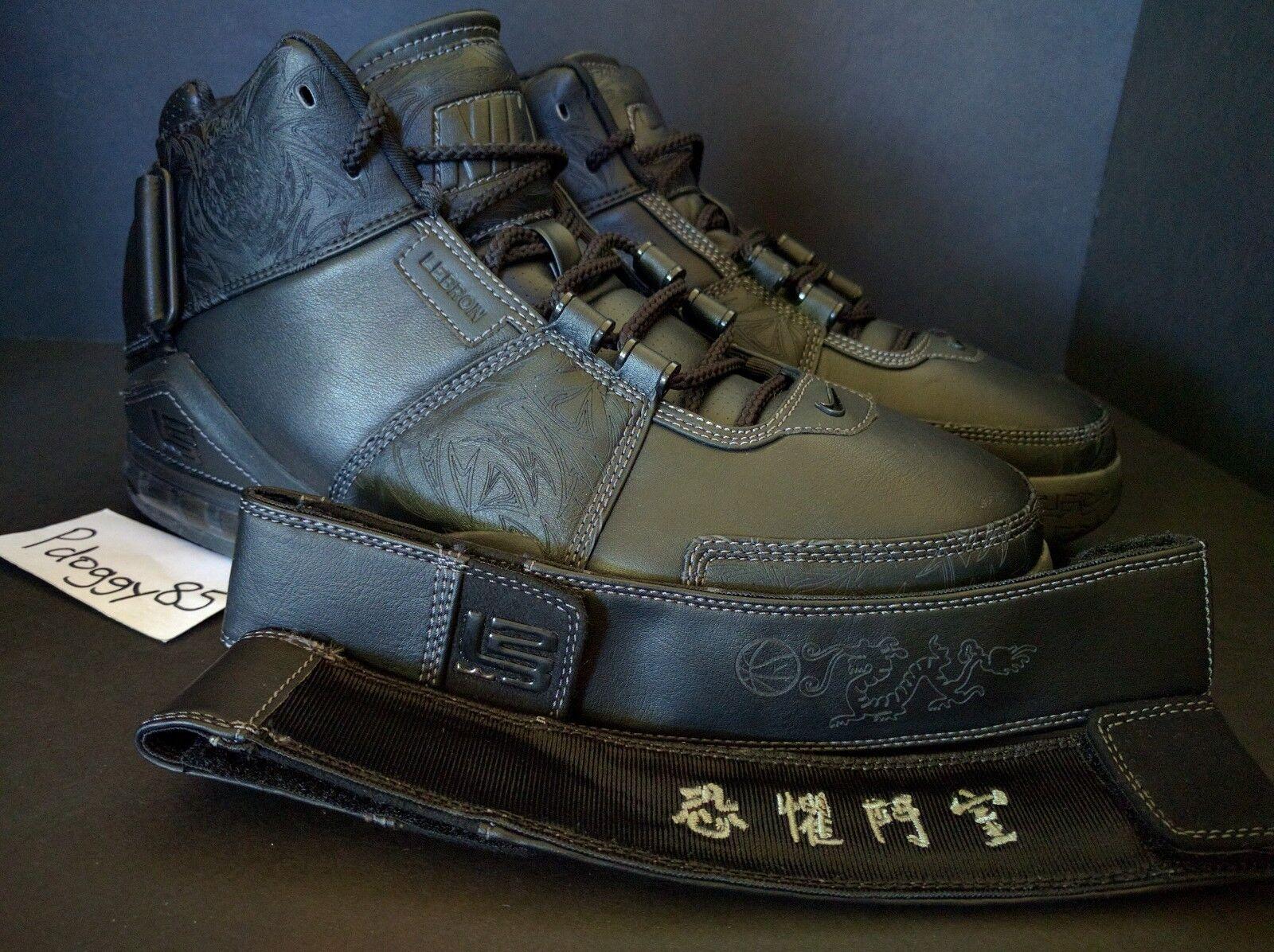 Sample Chamber of Fear Nike Air Zoom Lebron II 2 DS sz 10 Birthday Bday COF Bang