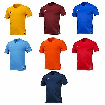 Nike DRI FIT Mens Park VI Short Sleeve Jersey AUTHENTIC Football Shirts 725891