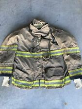 Firefighter Globe Turnout Bunker Coat 51x32 G Xtreme 2008 No Cut Out