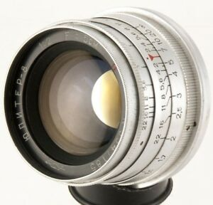JUPITER-8-50mm-f2-Lens-M39-Zorki-FED-Leica-35mm-RF-camera-KMZ-50-2-sonnar