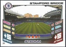TOPPS MATCH ATTAX 2012-13- #037-CHELSEA-STAMFORD BRIDGE