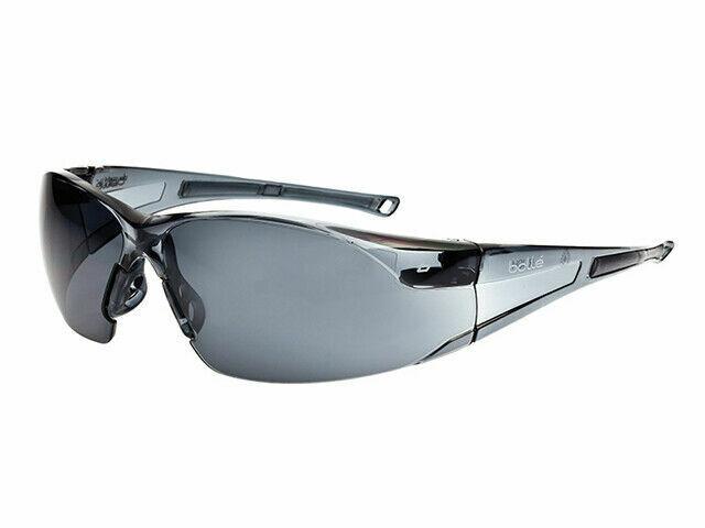 Bolle Rush Safety Glasses RUSHPSF Smoke Lens RDGTools