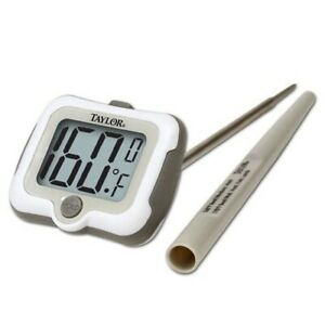 Taylor-Pro-Adjustable-Head-Digital-Cooking-Thermometer-amp-Oversized-LCD-9836