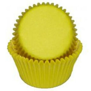 Yellow - Mini Baking Cups/Liners - 100 Count