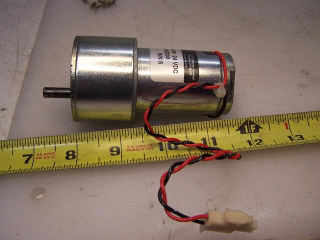 Globe Motor Gear Model 409A6022-3 24VDC