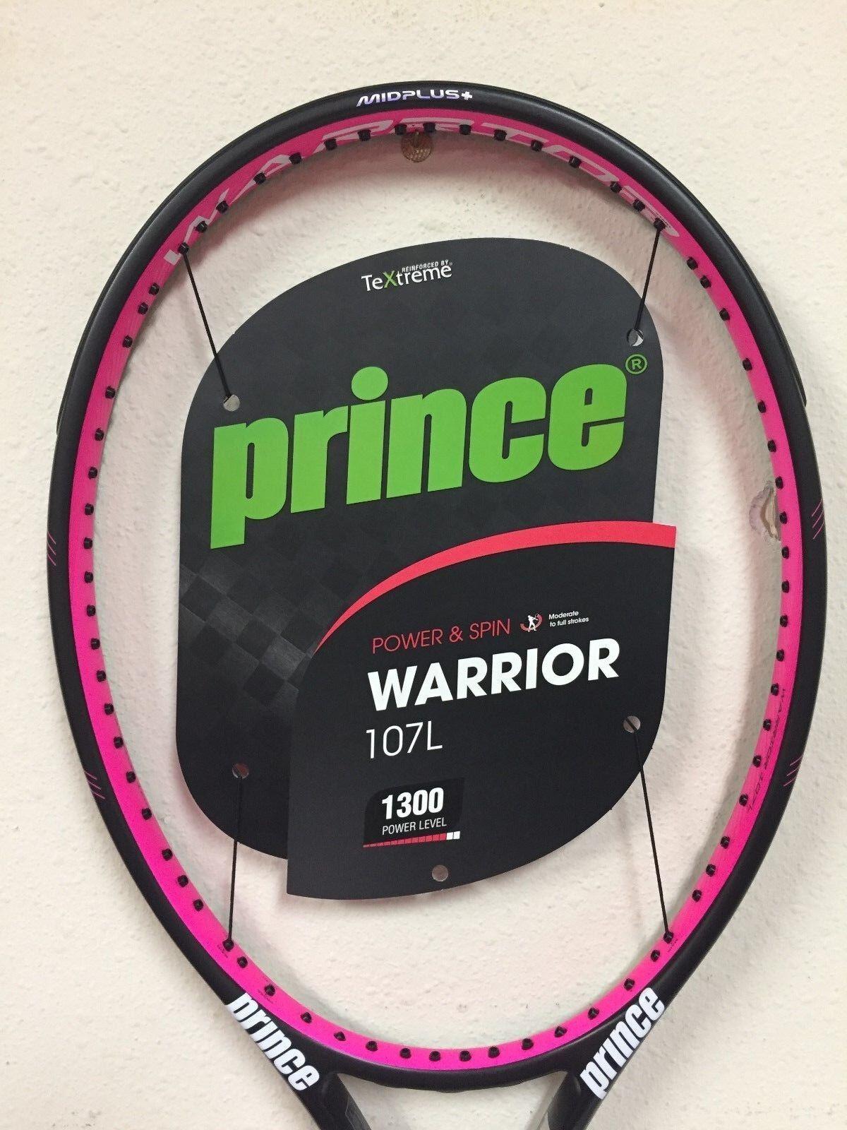 Prince Warrior 107L Tennis Racquet Grip Size 4 1/4