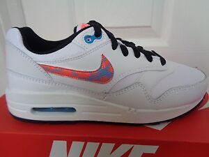 Detalles de Nike Air Max 1 FB (GS) Zapatillas Zapatilla 705393 100 UK 4.5 EU 37.5 nos 5 y Nuevo + Caja ver título original