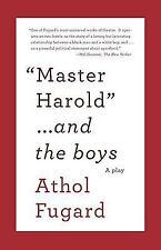 Vintage International: Master Harold and the Boys by Athol Fugard (2009,...