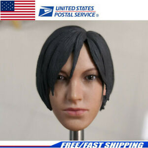 IN STOCK 1//6 Resident Evil Ada Wong Head For Hot Toys Phicen SHIP FROM USA