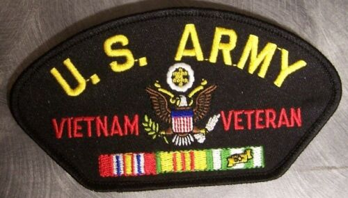 Embroidered Military Patch U S Army Vietnam Veteran NEW large 5¼x2¾