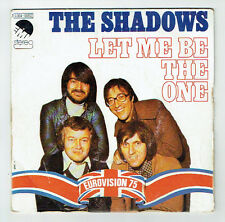 "The SHADOWS Vinyle 45 tours SP 7"" LET ME BE THE ONE - EMI 05.852 EUROVISION 1975"