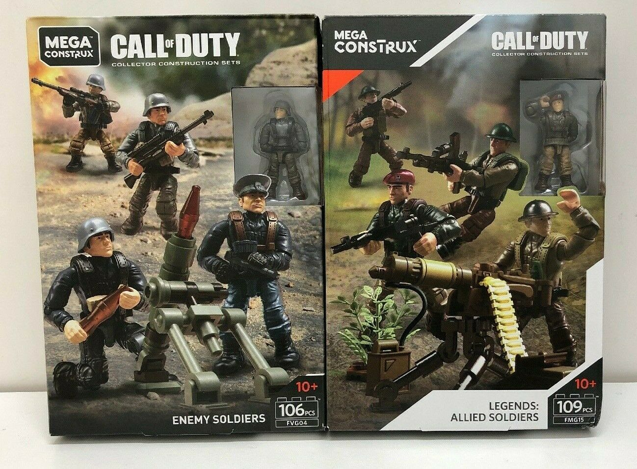 Call Of Duty Enemy Soldiers And Allied Soldiers FVG04 & FMG15