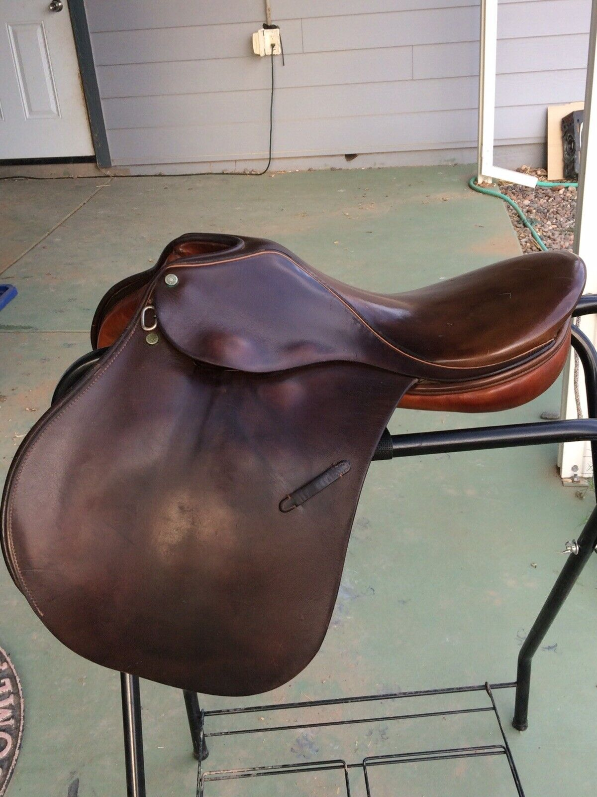 "Crosby 16.5"" Close Contact Saddle   clients first reputation first"