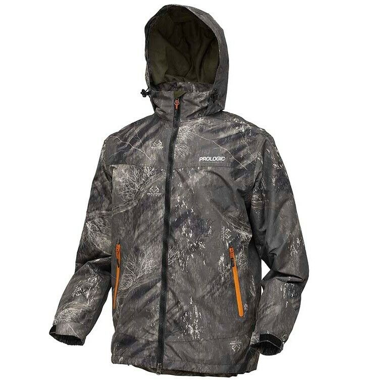 ProLogic Realtree fishing Jacket angel chaqueta chaqueta lluvia chaqueta M L XL XXL