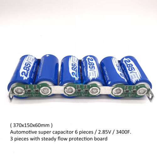 17V-566F Farad Super Capacitor Electrical Component Single Row Electric Capacity