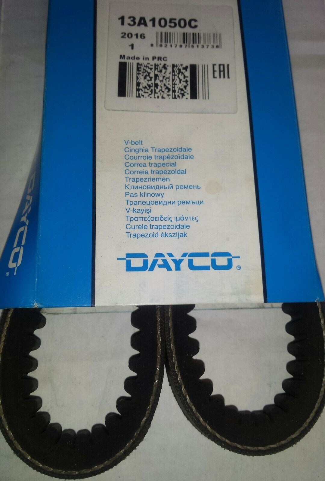 Dayco 7PK1750 Correa Trapecial Poli V