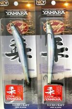"Yawara 125FW 5/"" Floating Jerkbait IN CHROM 5953 Lucky Craft Flash Minnow 5//8 Oz"