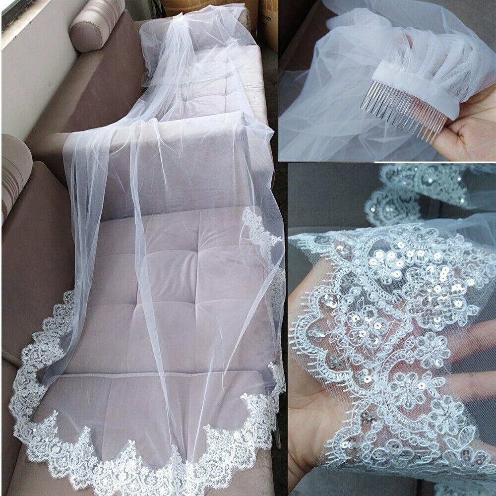 2 Tier 3M Wedding Veil (Color: Ivory)