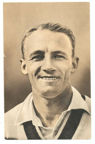 1935 Test Match Favourites Don Bradman NSW Australia Postcard