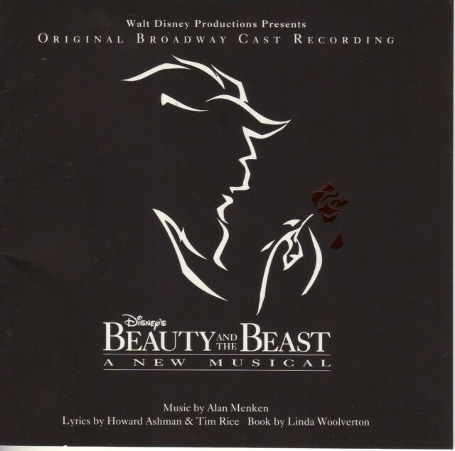 BEAUTY AND THE BEAST Broadway Cast NM 1994 Disney Canada Cinram press