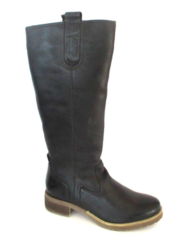 Muelle uno clásico para mujer botas zapatos negro gr. 40 nuevo original caja PVP  A131