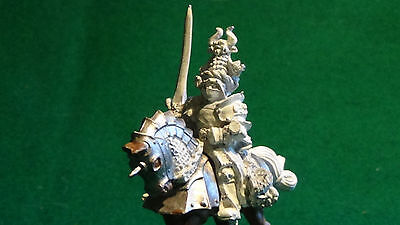 Fiducioso Warhammer Citadel Empire Classic Grand Master Of Knight Of The Panther Metal Unp Firm In Structure