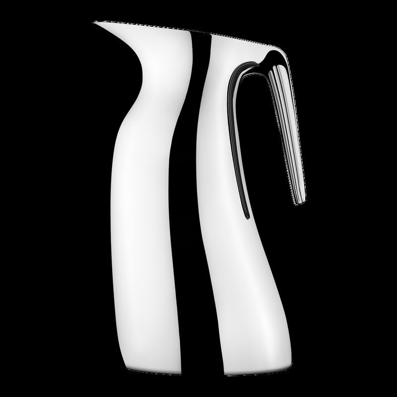 Georg Jensen en acier inoxydable Bec pichet thermos pichet design moderne NEUF