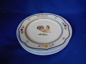 Image is loading Dinnerware-Coventry -Fine-Porcelain-GENEVIEVE-3-dinner-plates- & Dinnerware Coventry Fine Porcelain GENEVIEVE (3) dinner plates 10 1 ...
