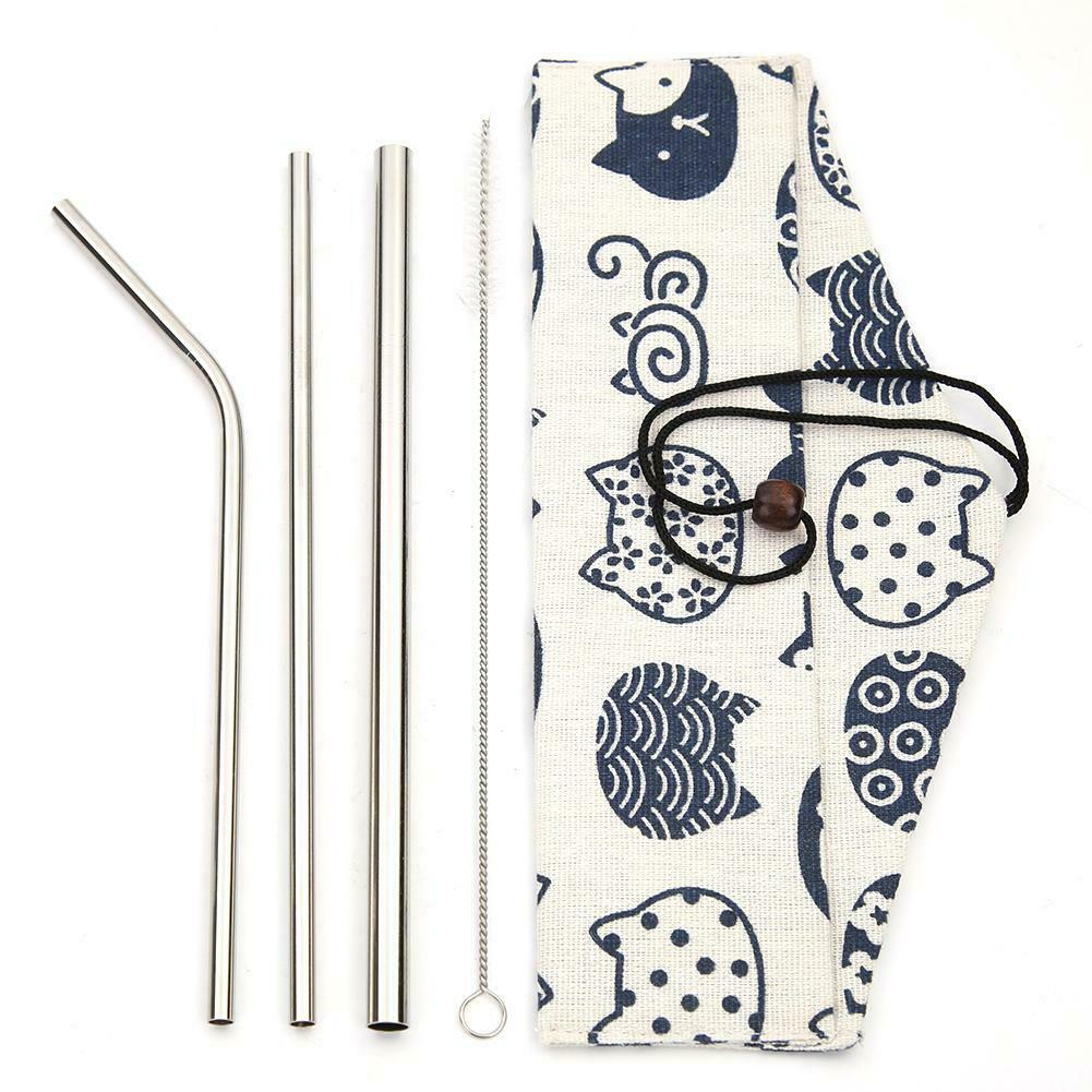 3pcs Straw Brush Cat Bag