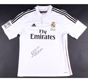 new style 74771 740de Details about CRISTIANO RONALDO Autographed Real Madrid Jersey Shirt ICONS