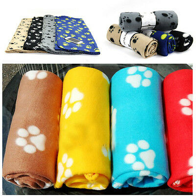 1pc Beautiful Pet Touch Soft Fleece Pet Blanket Dogs Puppy Blanket Cat Blankets