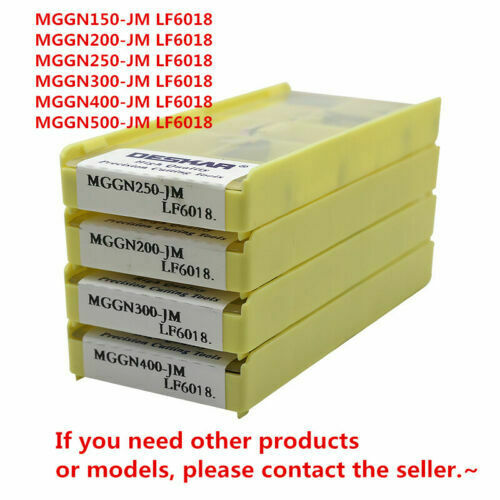 MGGN150-JM LF6018 1.5mm and grooving Cutting carbide Milling insert cutting tool