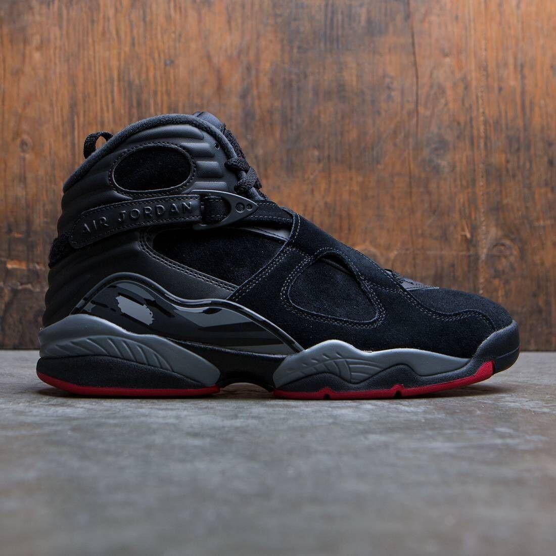 free shipping 97188 cc935 2017 Nike Nike Nike Air Jordan 8 VIII Retro Black Gym Red Size 12. 305381
