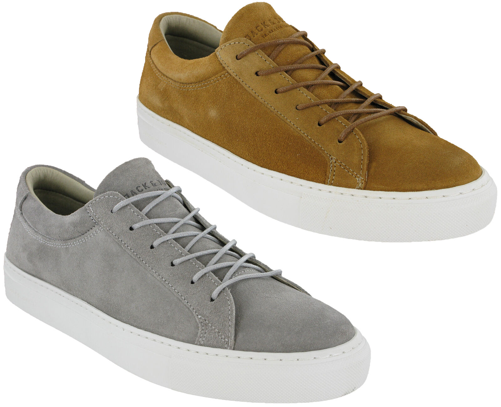 Jack & Jones Galaxy Trainers Uomo Suede Pelle Lace Up Pumps Scarpe UK7-12