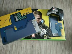 Microsoft Xbox One X cyberpunk 2077 Edition Limitée 1To